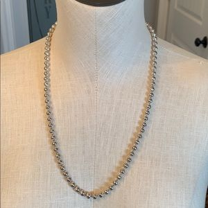 Premier designs simple silver strand of beads